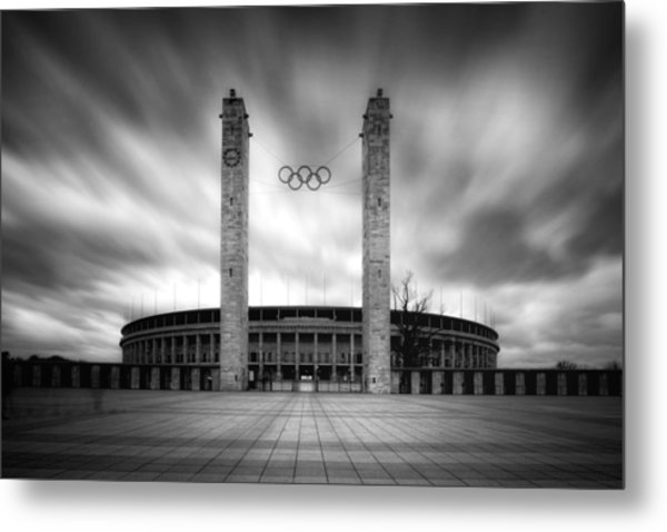 Metal Print featuring the photograph Olympia by Marc Huebner