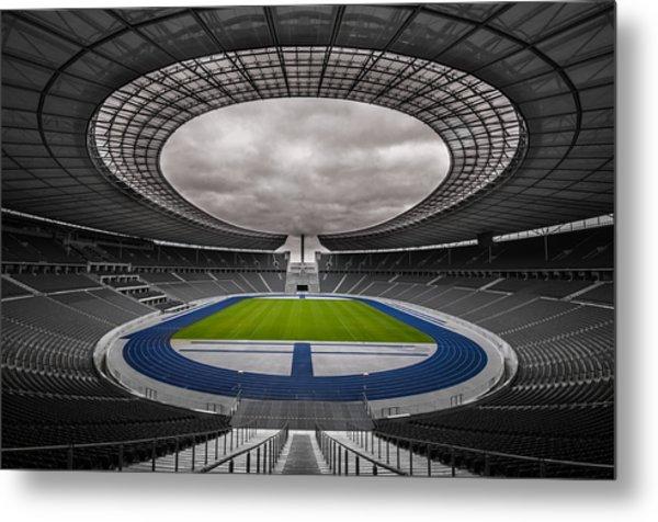 Olympia Stadion Berlin Metal Print