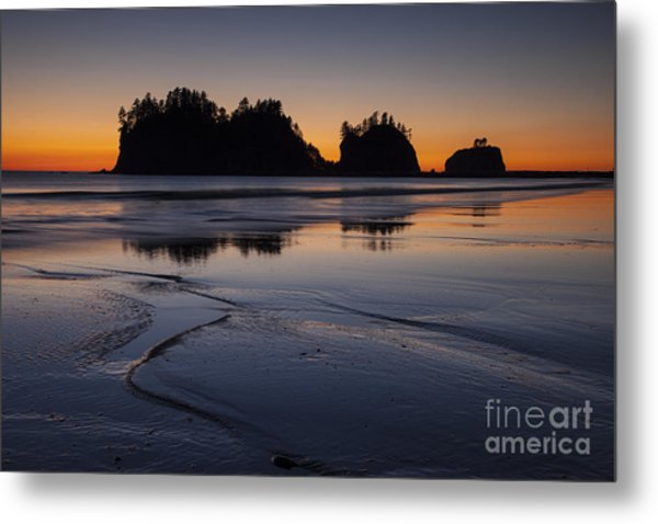 Olympic Peninsula Sunset Metal Print