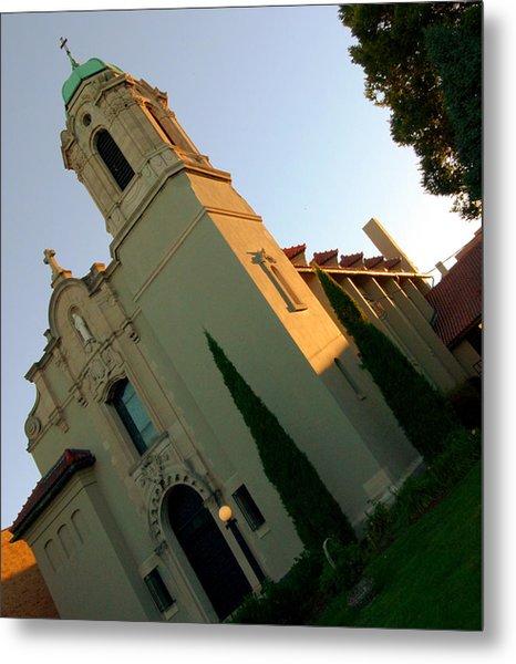 Metal Print featuring the photograph Omaha Church by Jeff Lowe