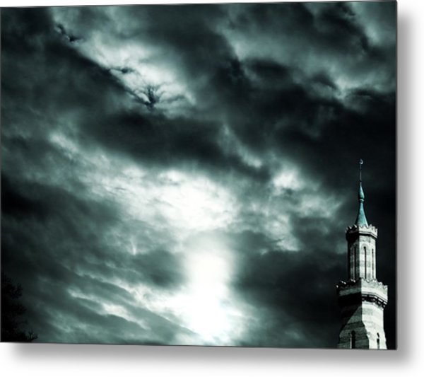 Ominous Skies Metal Print