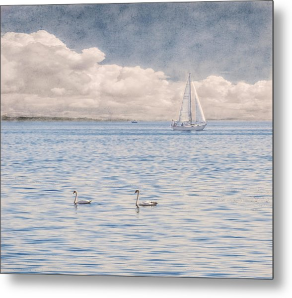 On A Summer's Breeze Metal Print