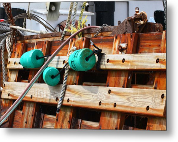 On Board Metal Print by Paula Rountree Bischoff