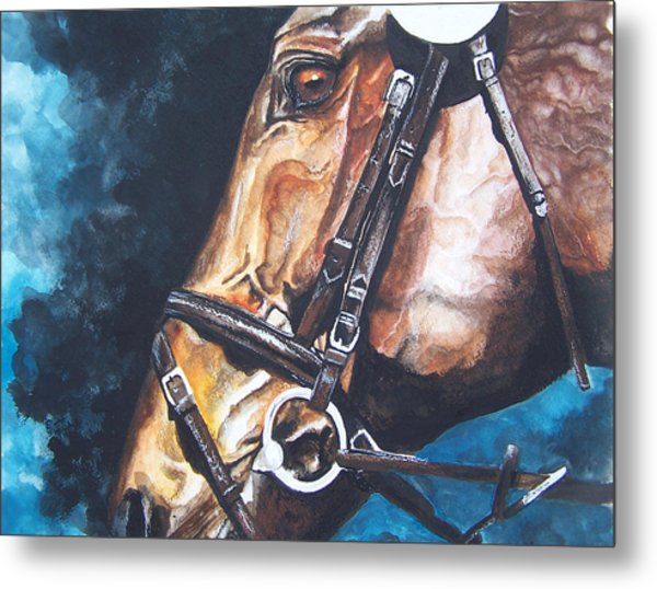 On Course Metal Print