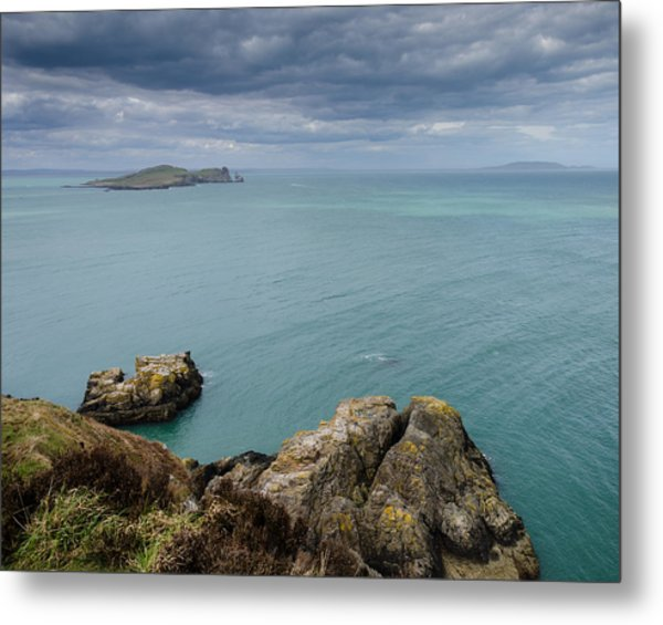 On Howth Head Metal Print