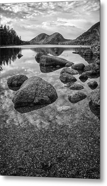 On Jordan Pond Metal Print