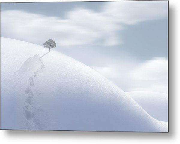 On My Own Alone Metal Print