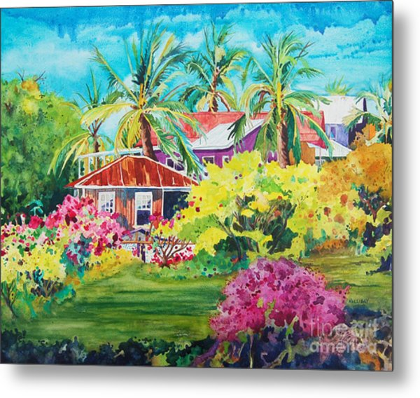 On The Big Island Metal Print