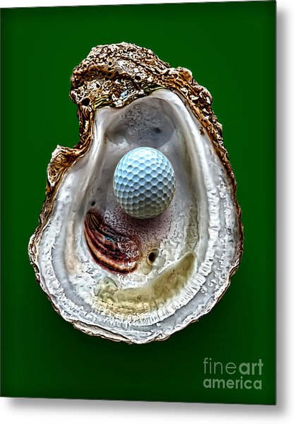 Hole In One Metal Print