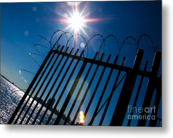 On The Other Side Metal Print by Kim Lessel