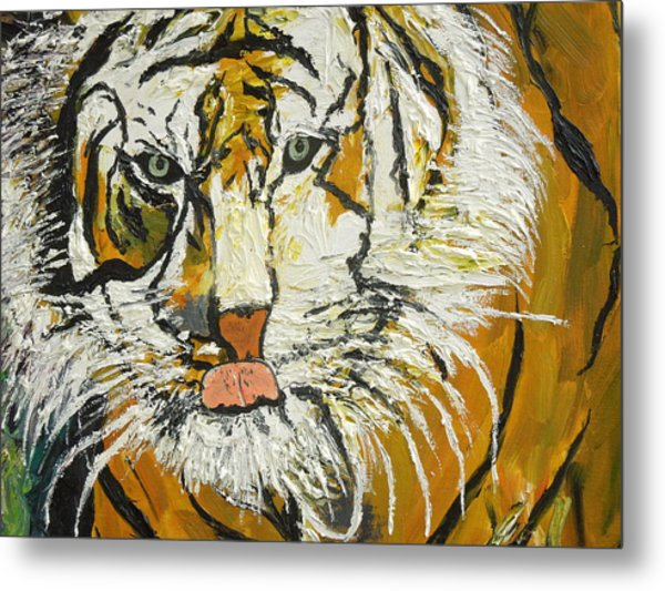 On The Prowl Zoom Metal Print