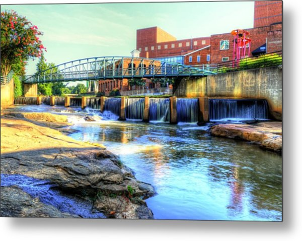 On The Reedy River In Greenville Metal Print