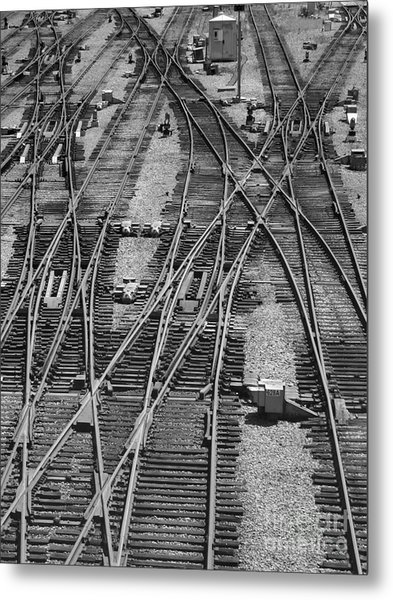 On The Right Track? Metal Print