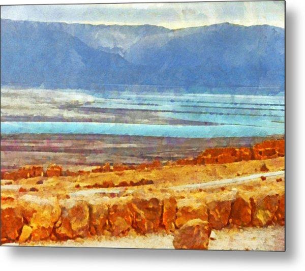 On The Road To Masada Metal Print
