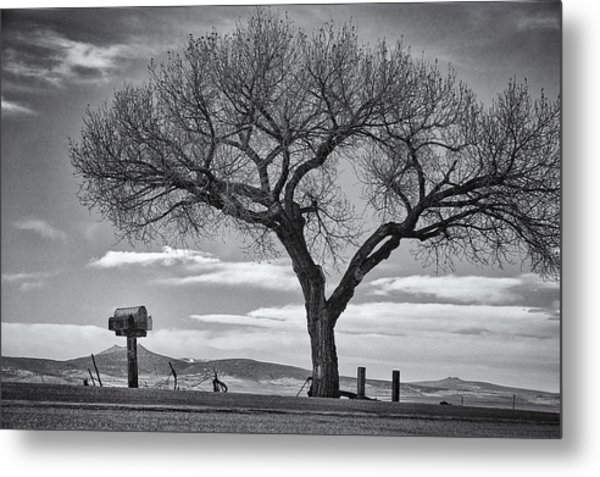On The Road To Taos Metal Print