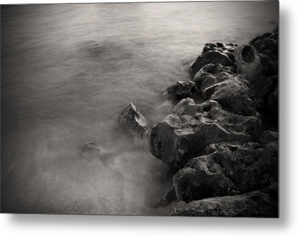 On The Rocks Metal Print by Fizzy Image