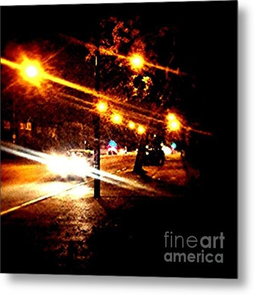 On The Way Home Tonight Metal Print
