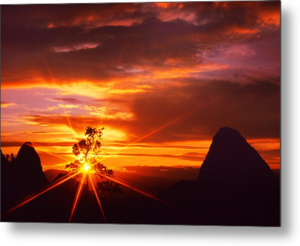 On The West Side  Metal Print