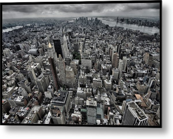 On Top Metal Print