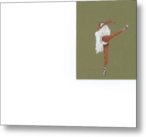 On Your Toes Metal Print by Catherine Swerediuk
