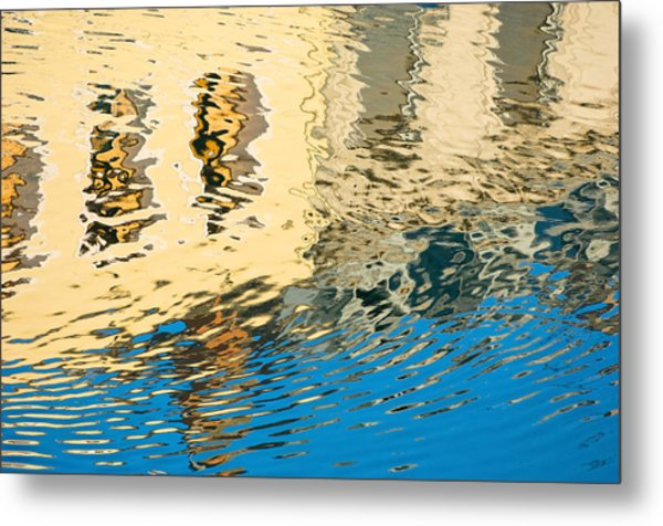 Once Upon A Canal Metal Print