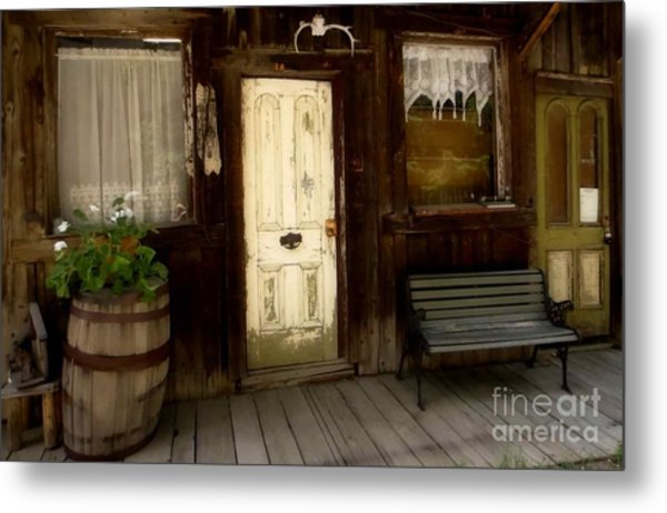 Once Upon A Time Metal Print by Claudette Bujold-Poirier
