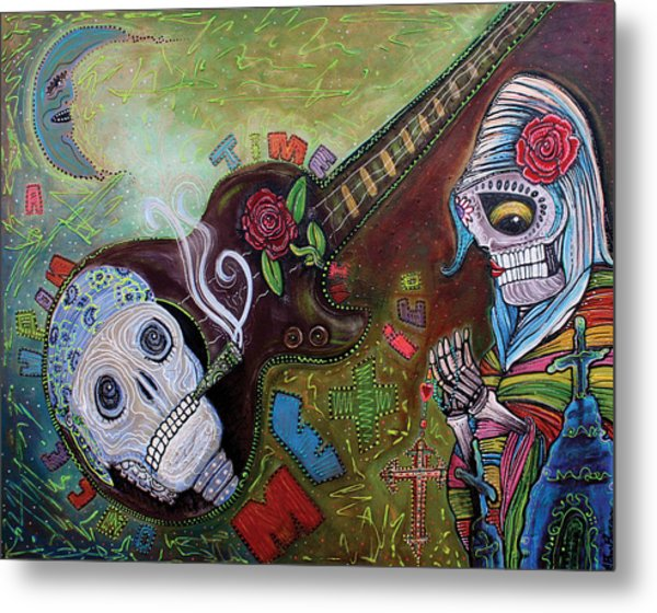 Once Upon A Time In Mexico Metal Print