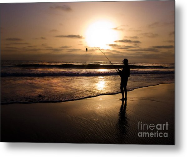 One Fish Only Metal Print