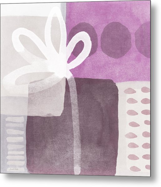 One Flower- Contemporary Painting Metal Print