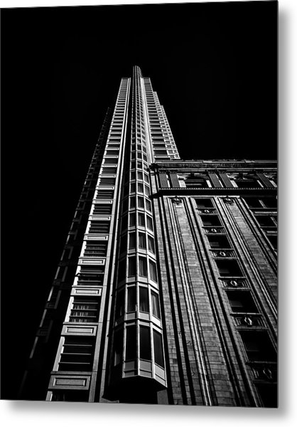 Metal Print featuring the photograph One King Street West Toronto Canada by Brian Carson