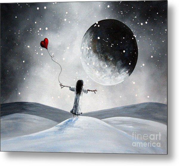 One Small Dream By Shawna Erback Metal Print by Shawna Erback