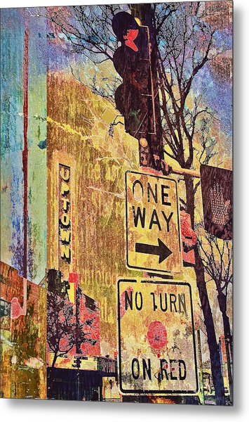 One Way To Uptown Metal Print