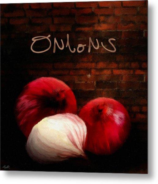 Onions II Metal Print