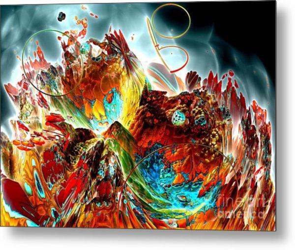 Oniric - 2 Metal Print by Bernard MICHEL