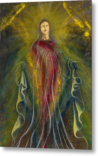 Only One Illuminates My Soul IIi Metal Print