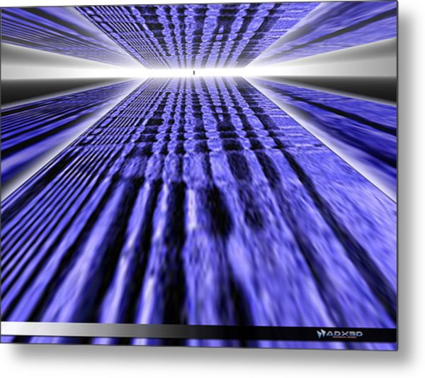 Only One Way Forward. Metal Print