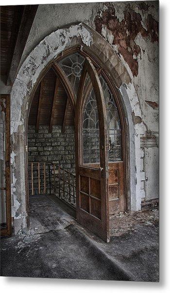 Open Door Metal Print