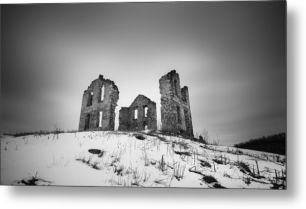 Open House Metal Print