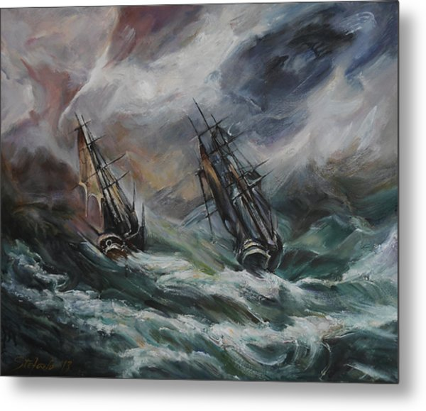 Open Sea - Dangerous Drift II Metal Print