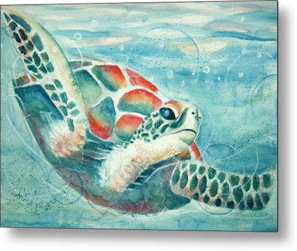 Open Seas Metal Print by Joanna Gates