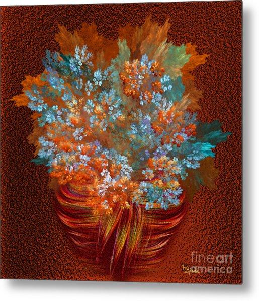Optimistic Art - A Gift Of Joy By Rgiada Metal Print