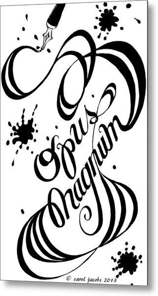 Opus Magnum Metal Print