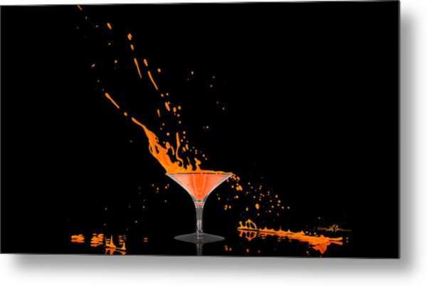 Orange-cident Metal Print