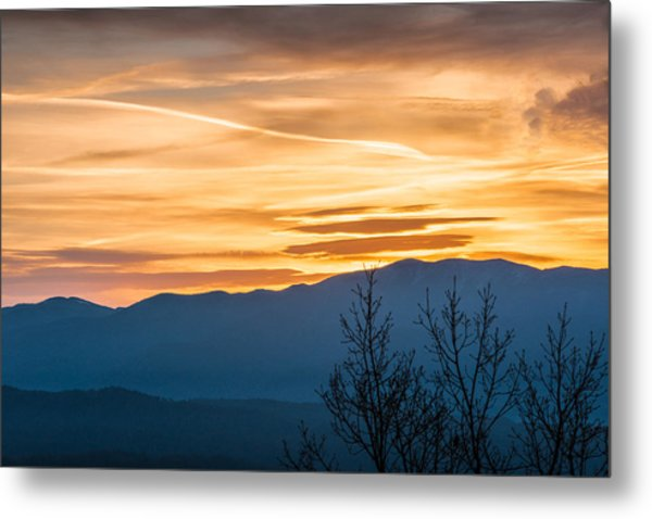 Smoky Mountain Sunrise 3 Metal Print