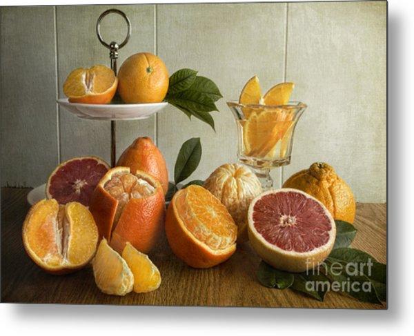 Orangeade Metal Print