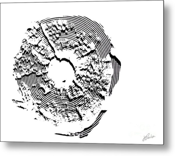Orbits Metal Print
