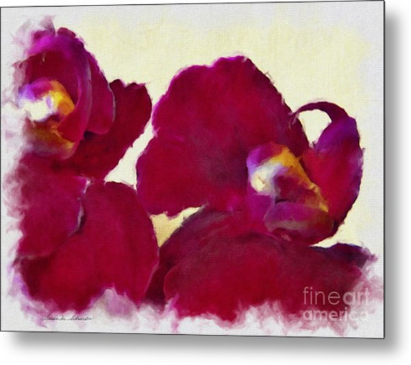 Orchids No. 4 Metal Print