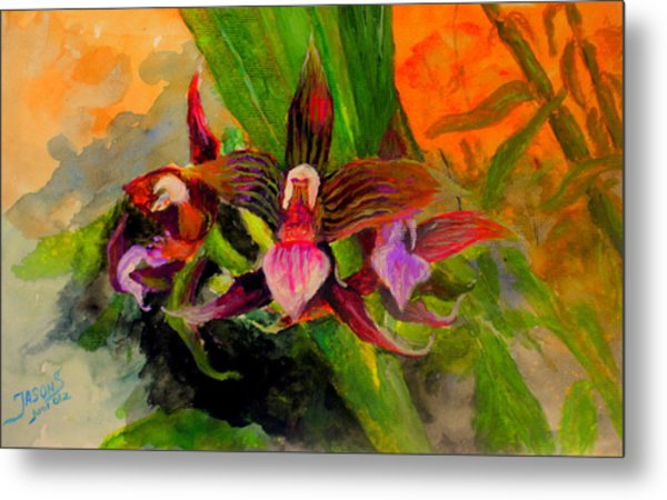 Orchiid Metal Print