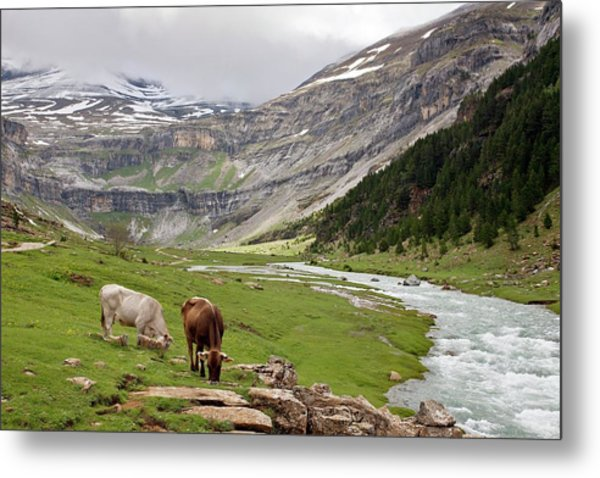Ordesa National Park Metal Print