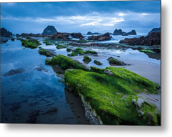 Oregon Blues Metal Print